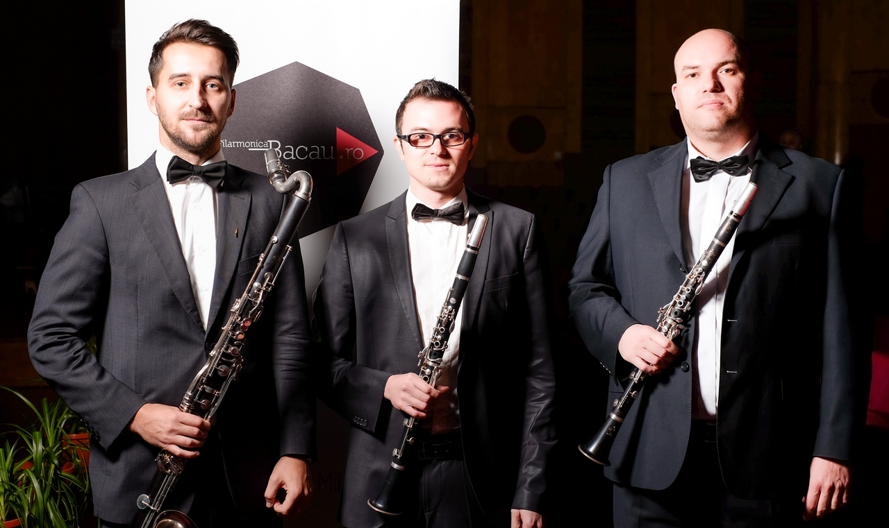 Filarmonica Mihail Jora Bacau - Formatii camerale - Partida clarinet