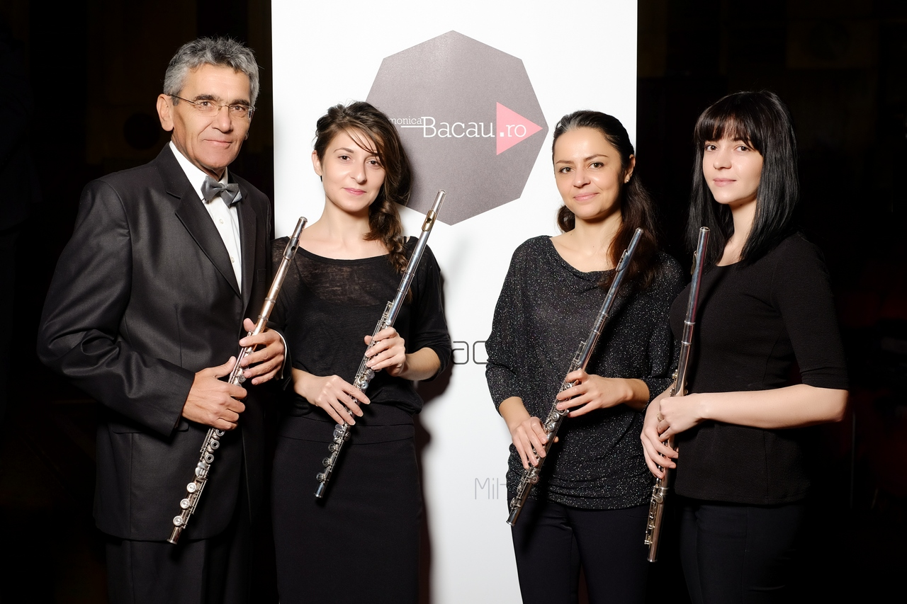Filarmonica Mihail Jora Bacau - Formatii camerale - Partida flaut